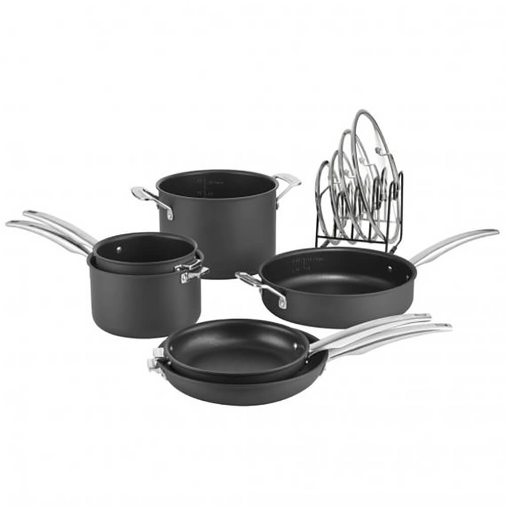 Smartnest Hard Anodized Nonstick Set - 11pc.