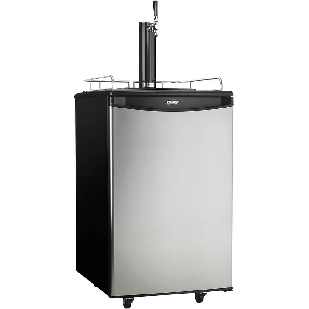 5.4 Cu.Ft. Stainless Kegerator