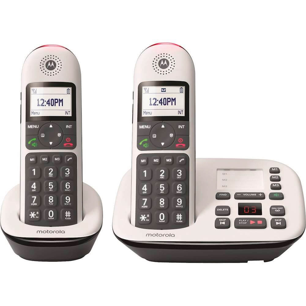 Digital Cordless Handsets with Answering Machine