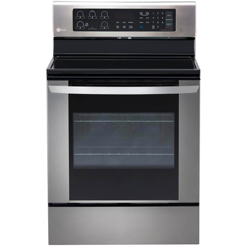 6.3 Cu.Ft. Stainless Electric Range