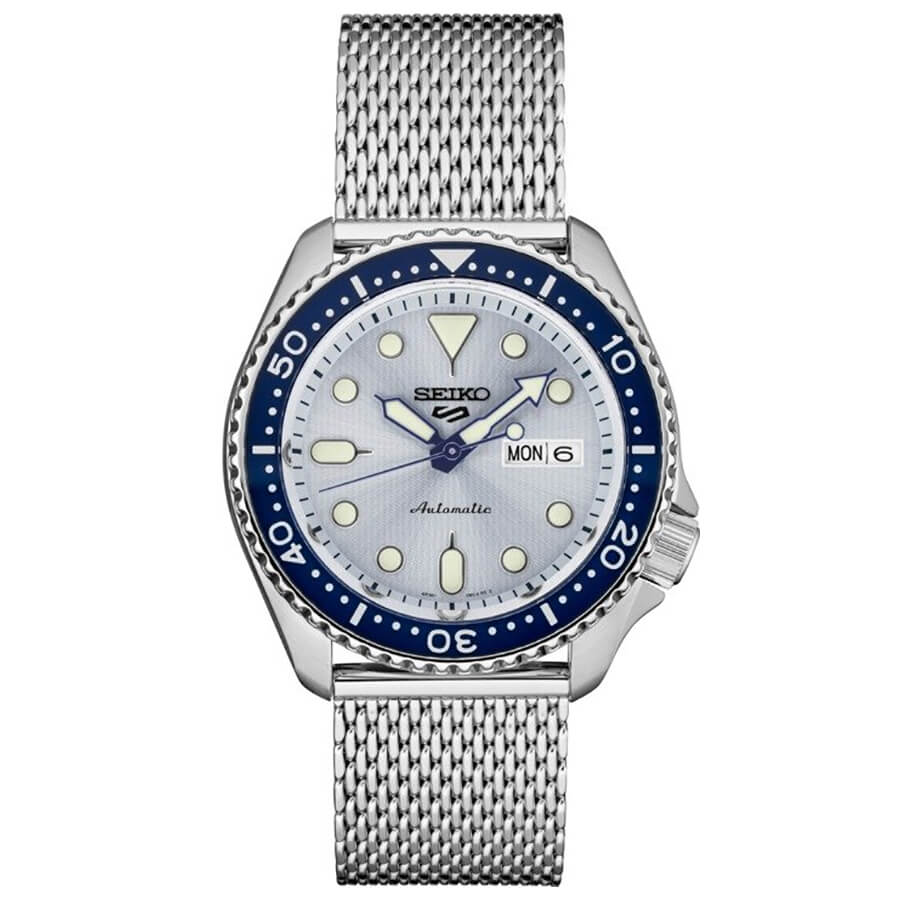 5 Sports 24-Jewel Blue Dial with Rotating Bezel