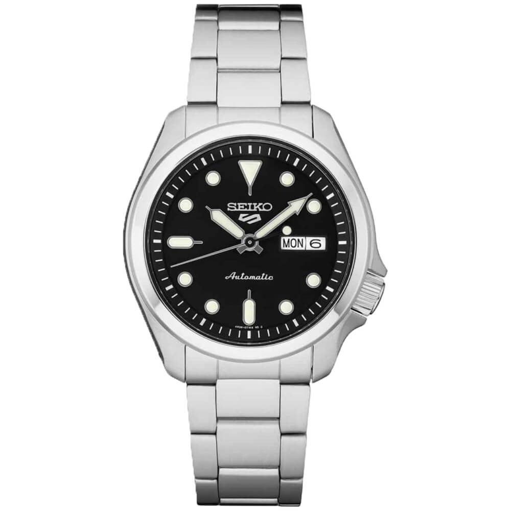 5 Sports 24-Jewel Stainless Steel Automatic Watch