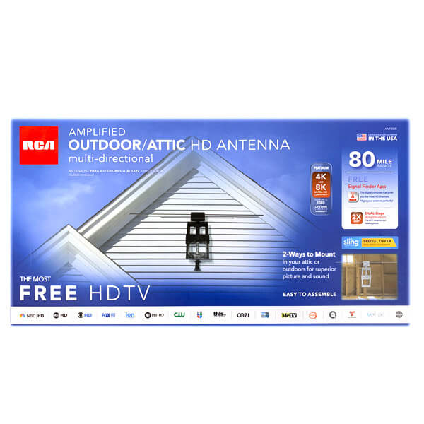 Amplified Outdoor/Attic Antenna