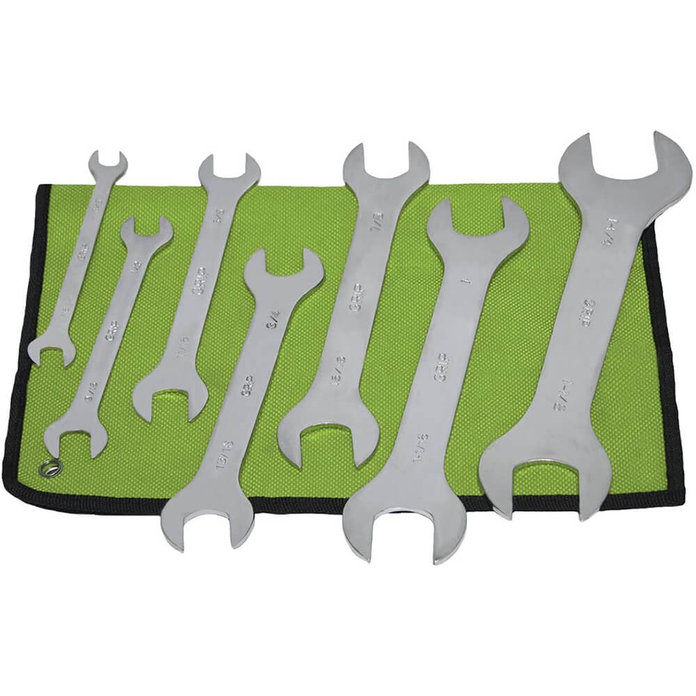 7 Piece Super Thin SAE Wrench Set