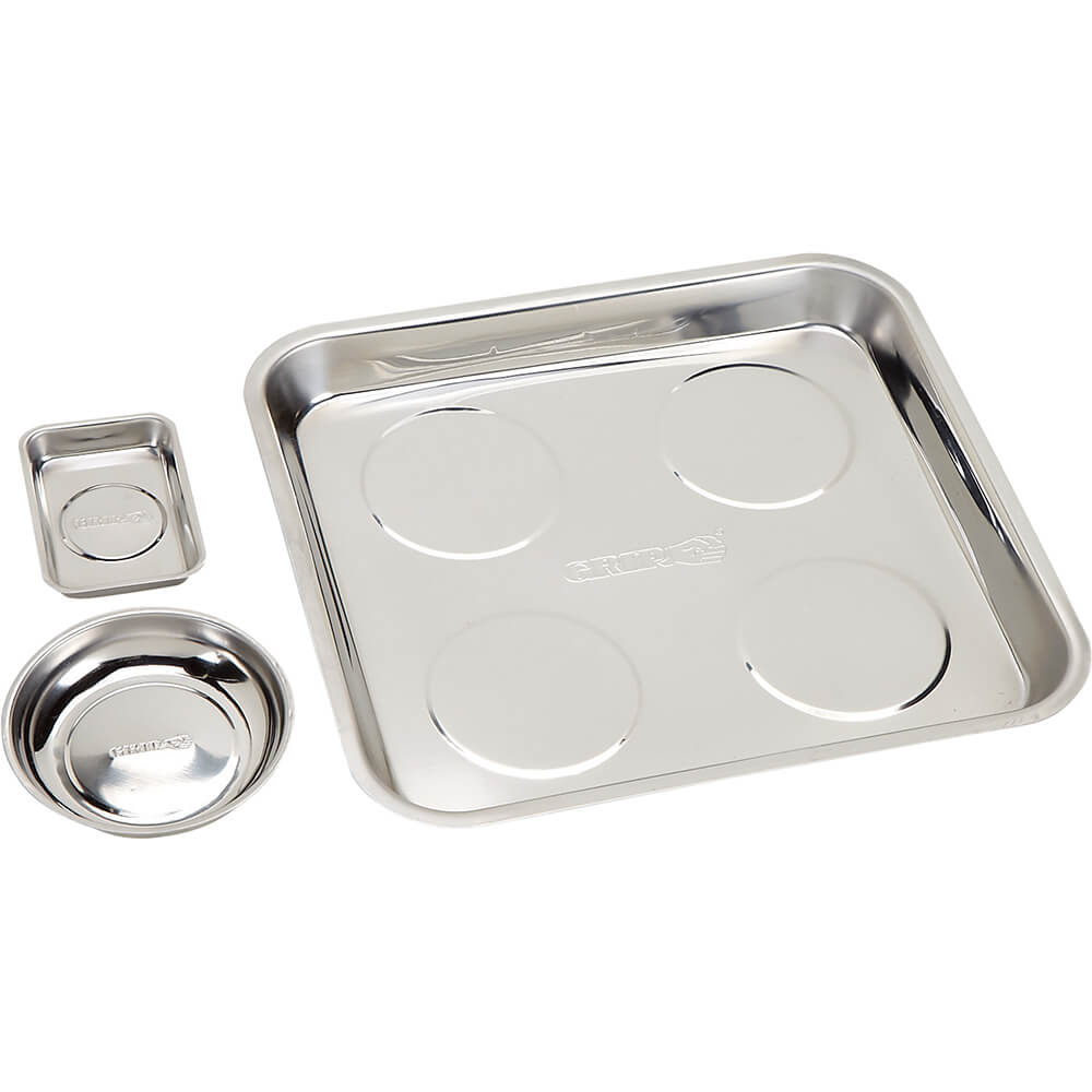 3 Piece Magnetic Parts Tray Set