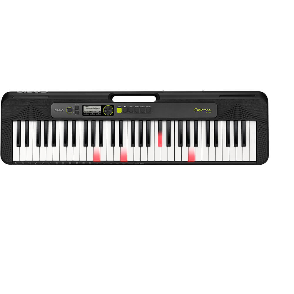tone LK-S250 Lighted 61-Key Digital Keyboard Black