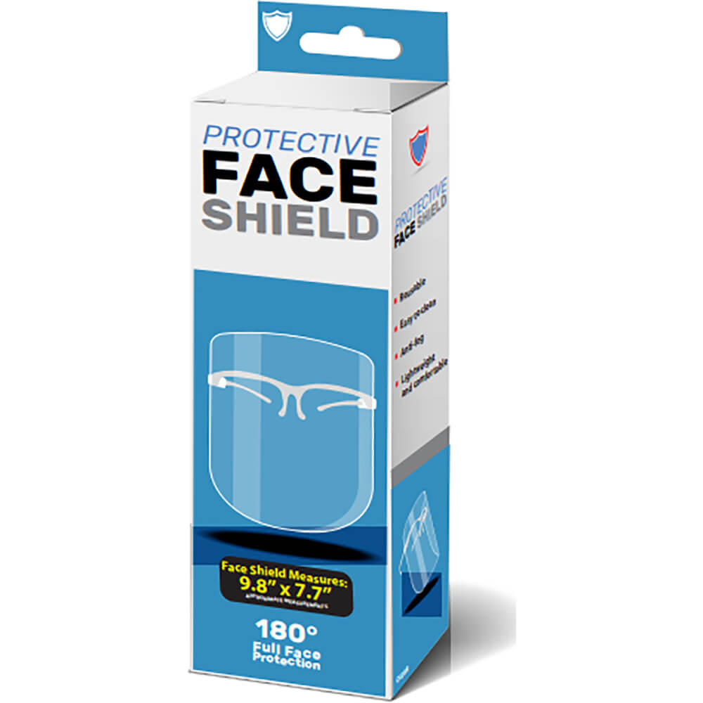 Kole Imports MO159 Transparent Face Shield
