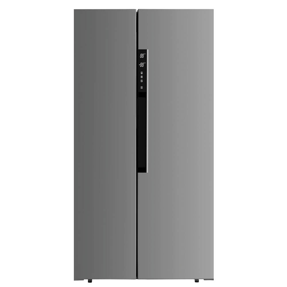 20.6 Cu. Ft. Side By Side Refrigerator - Stainless Steel