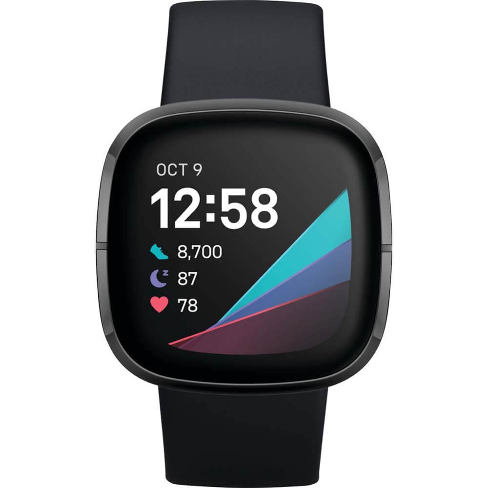 Sense Advanced Health & Fitness Smartwatch - Graphite