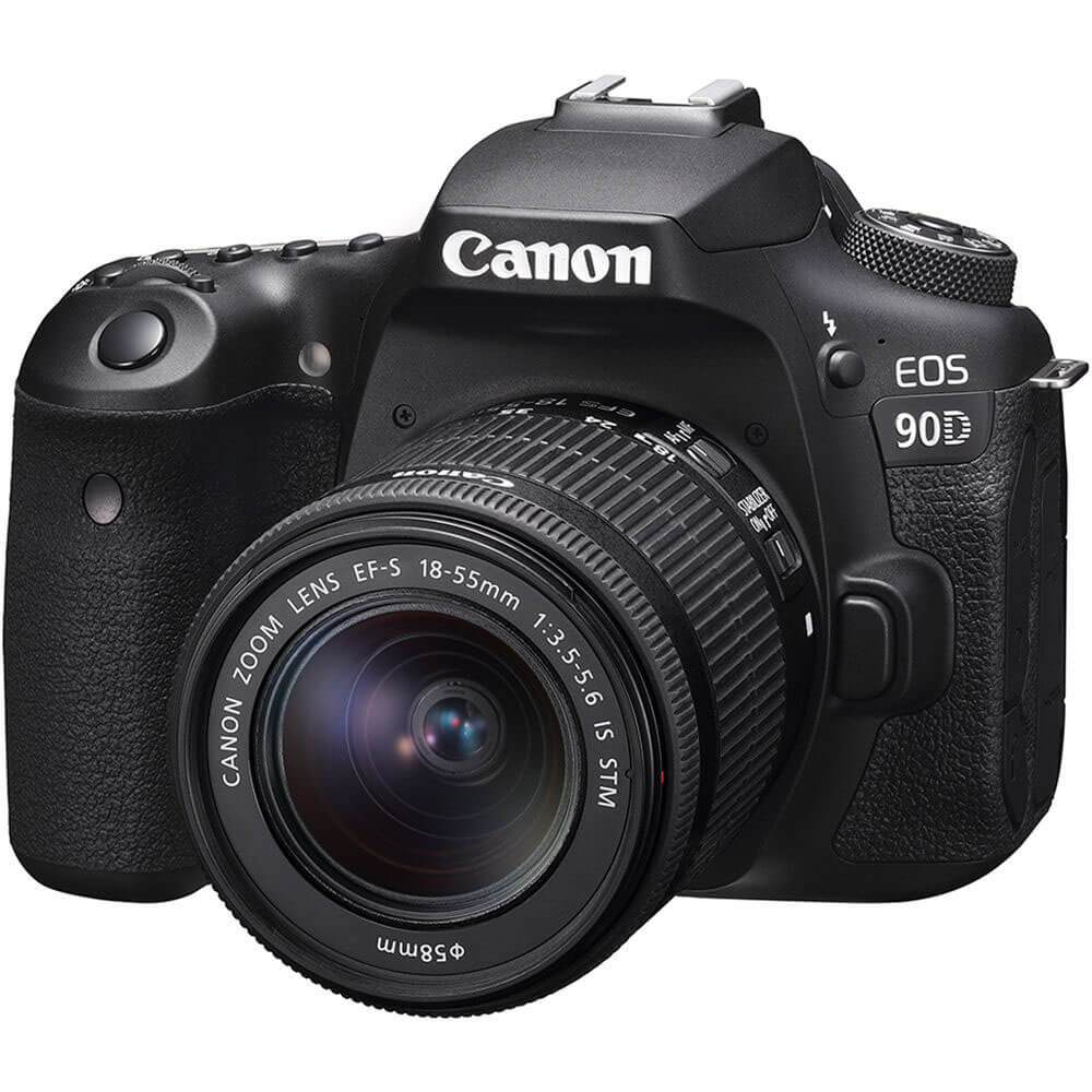EOS 90D DSLR Camera with 18-55mm Lens