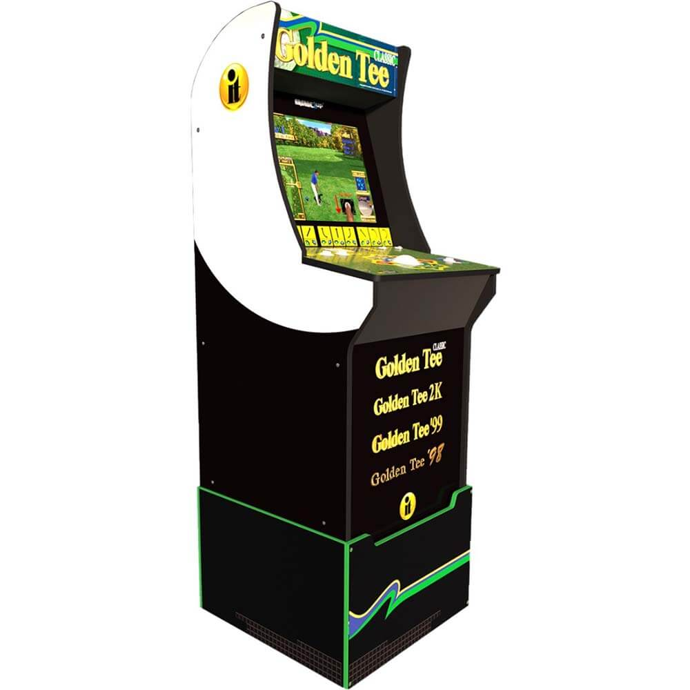 Golden Tee Arcade1Up w/Titleist Golf Balls