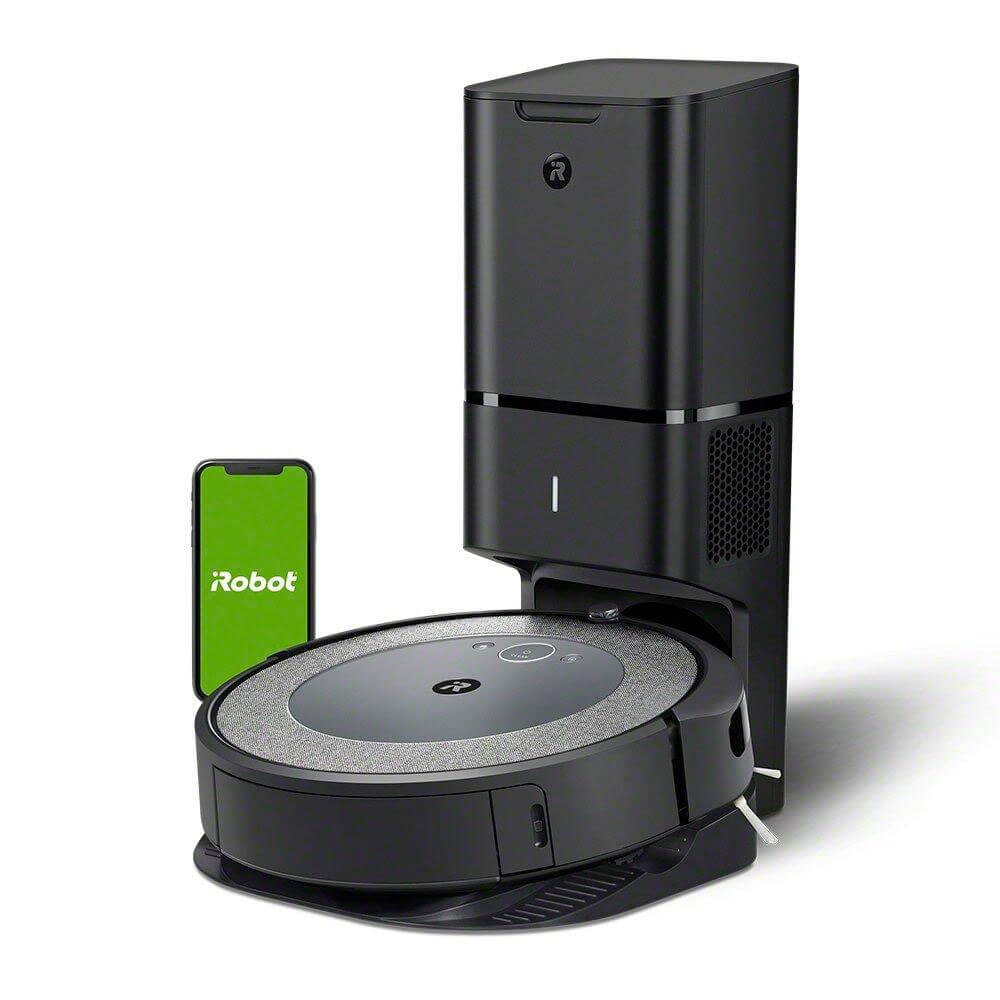 Roomba i3+ (3550) Wi-Fi Connected Robot Vacuum with Automatic Dirt Disposal