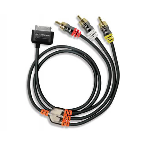 sneakPEEK Audio/Video cable for iPad/iPhone/iPod