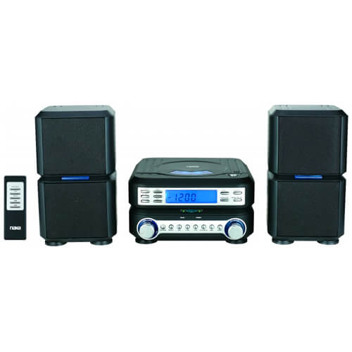Digital CD Micro System with AM/FM Stereo Radio
