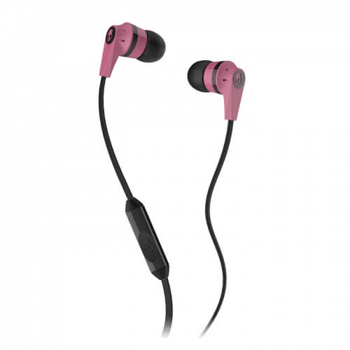 Inkd 2.0 Earbuds with Mic - Pink/Black