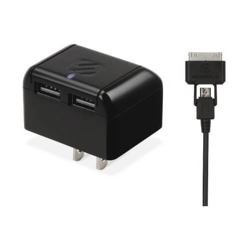 reVOLT Dual 2.1A USB Home Charger