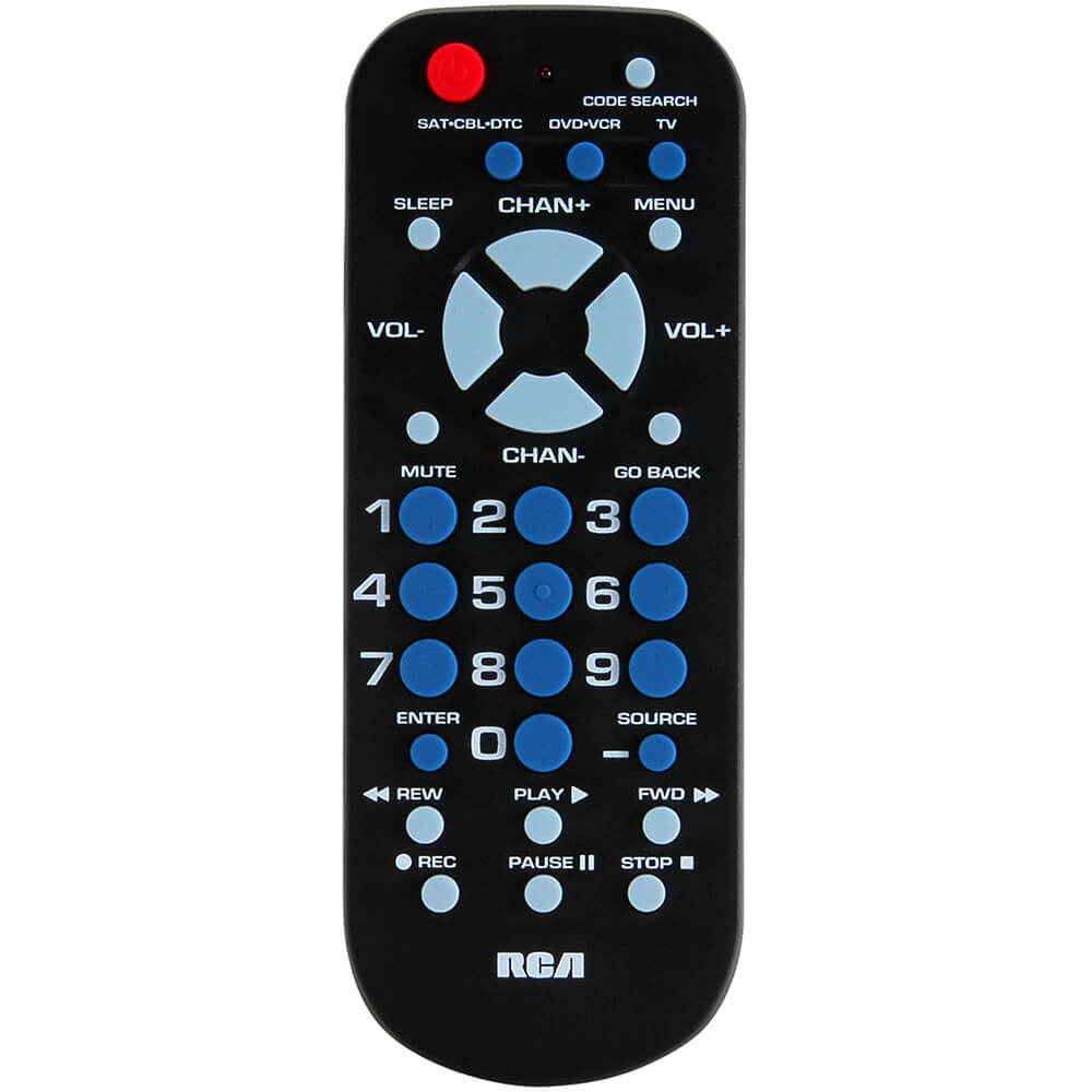 Universal Remote Control with 3 Functions