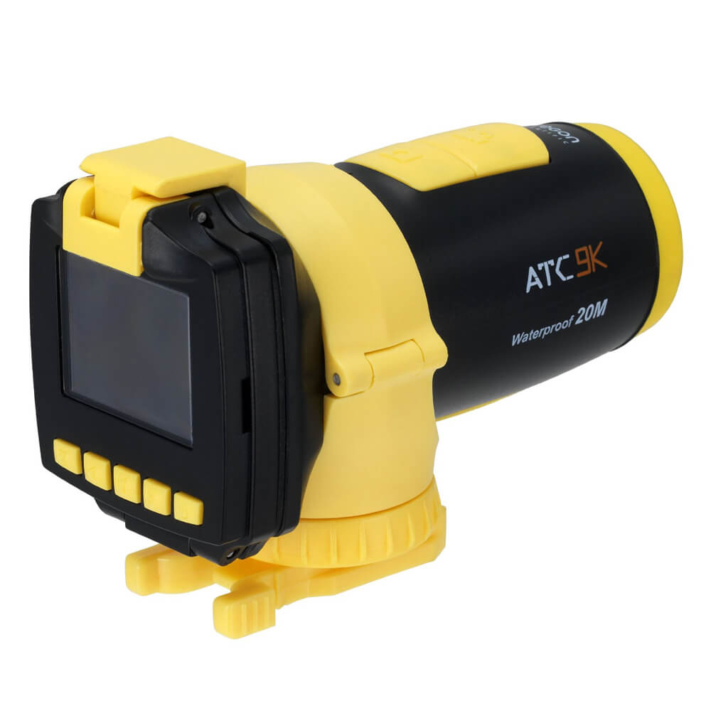 HD All Terrain Video Action Camera (Yellow)