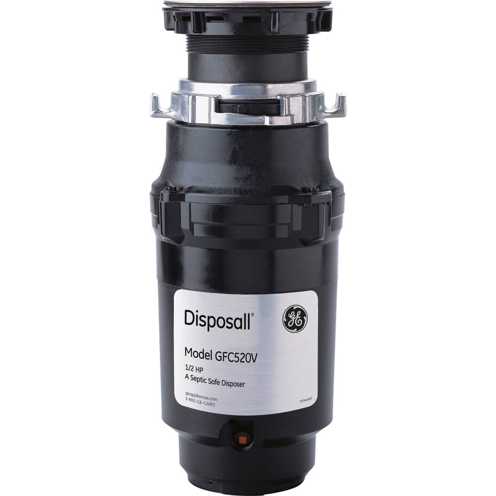 1/2 HP Continuous Feed Garbage Non-Corded Disposer