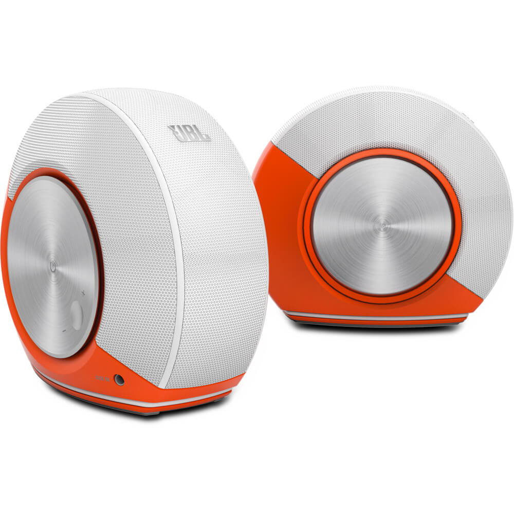Pebbles Plug and Play Audio System - Orange & White