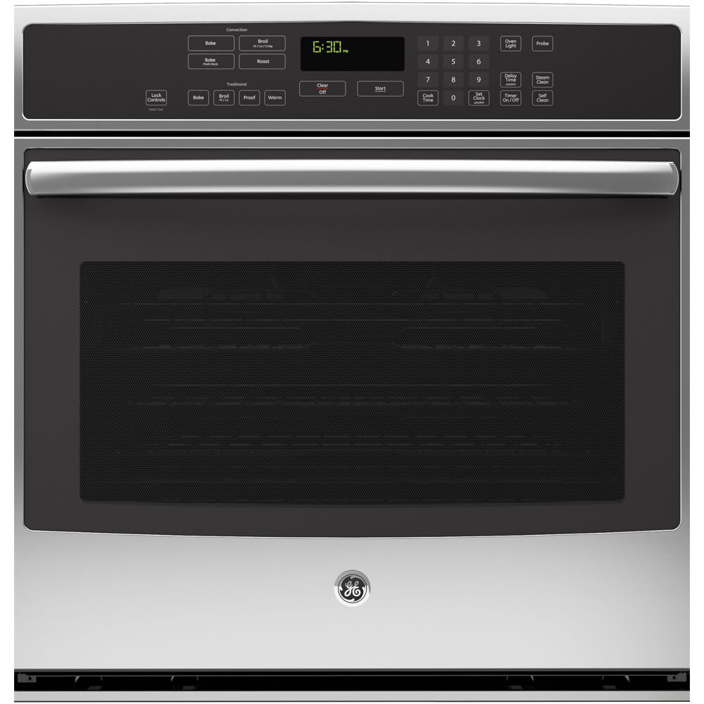 Profile 30 inch Stainless Convection Single Wall Oven
