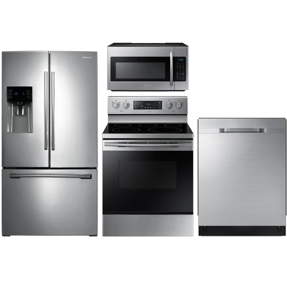 4 Pc. Stainless French Door Kitchen Package