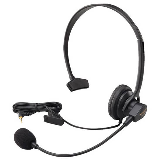 Hands-Free Headset with Comfort Fit Headband for Use with Cordless Phones