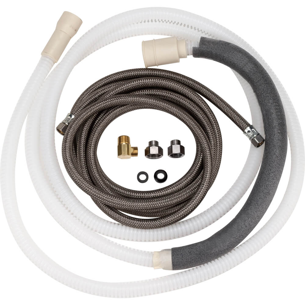Large-Port 10-ft Drain Hose Kit (Tall Tub)