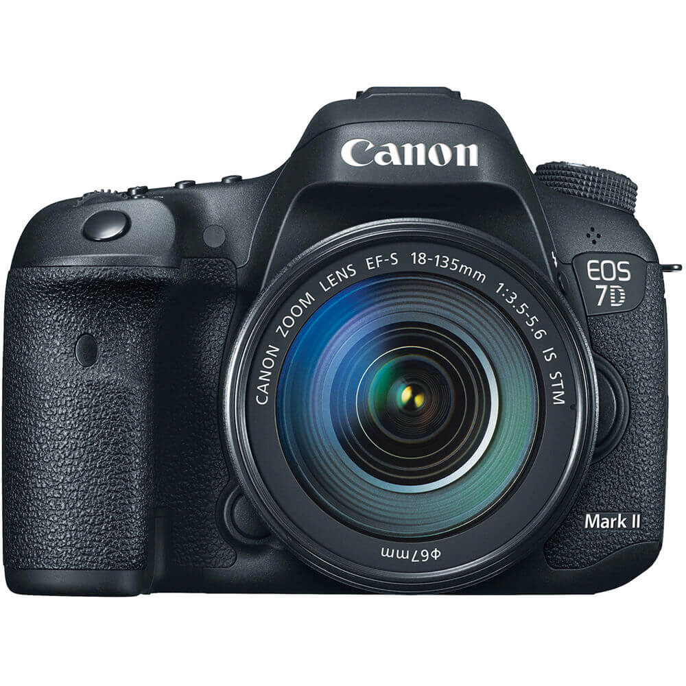 EOS 7D Mark II DSLR Camera with 18-135mm Lens
