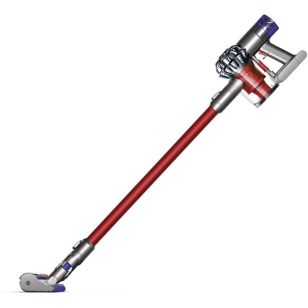 V6 Absolute Red / Silver Cordless Stick Vacuum
