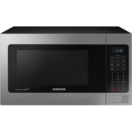 1.1 cu.ft Stainless Counter Top Microwave w/Grilling Element