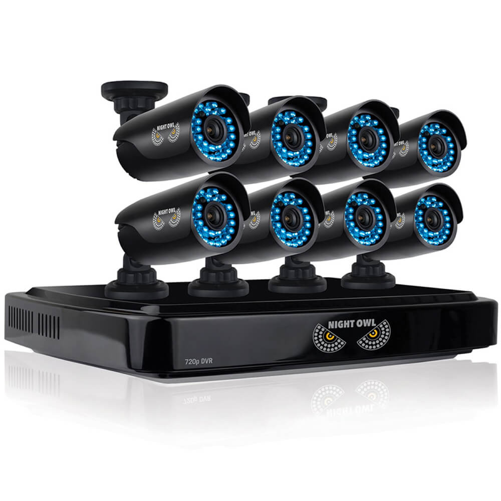 8 Channel Smart HD Video Security System