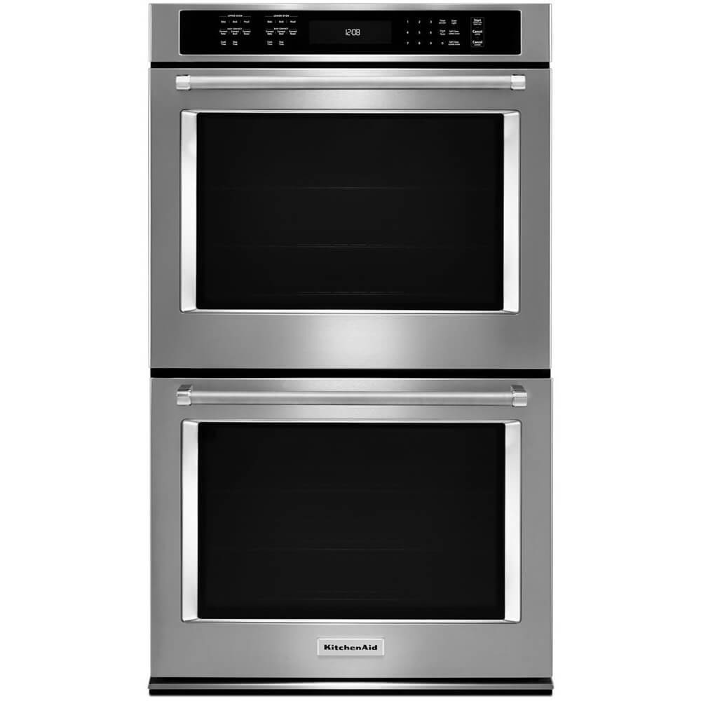 30 inch Stainless Convection Double Wall Oven