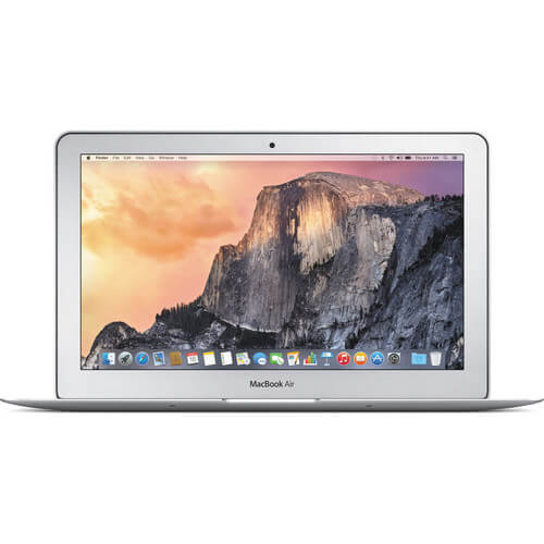 MacBook Air 11.6 inch Intel Core i5, 4GB RAM, 128GB SSD, OS X, Notebook