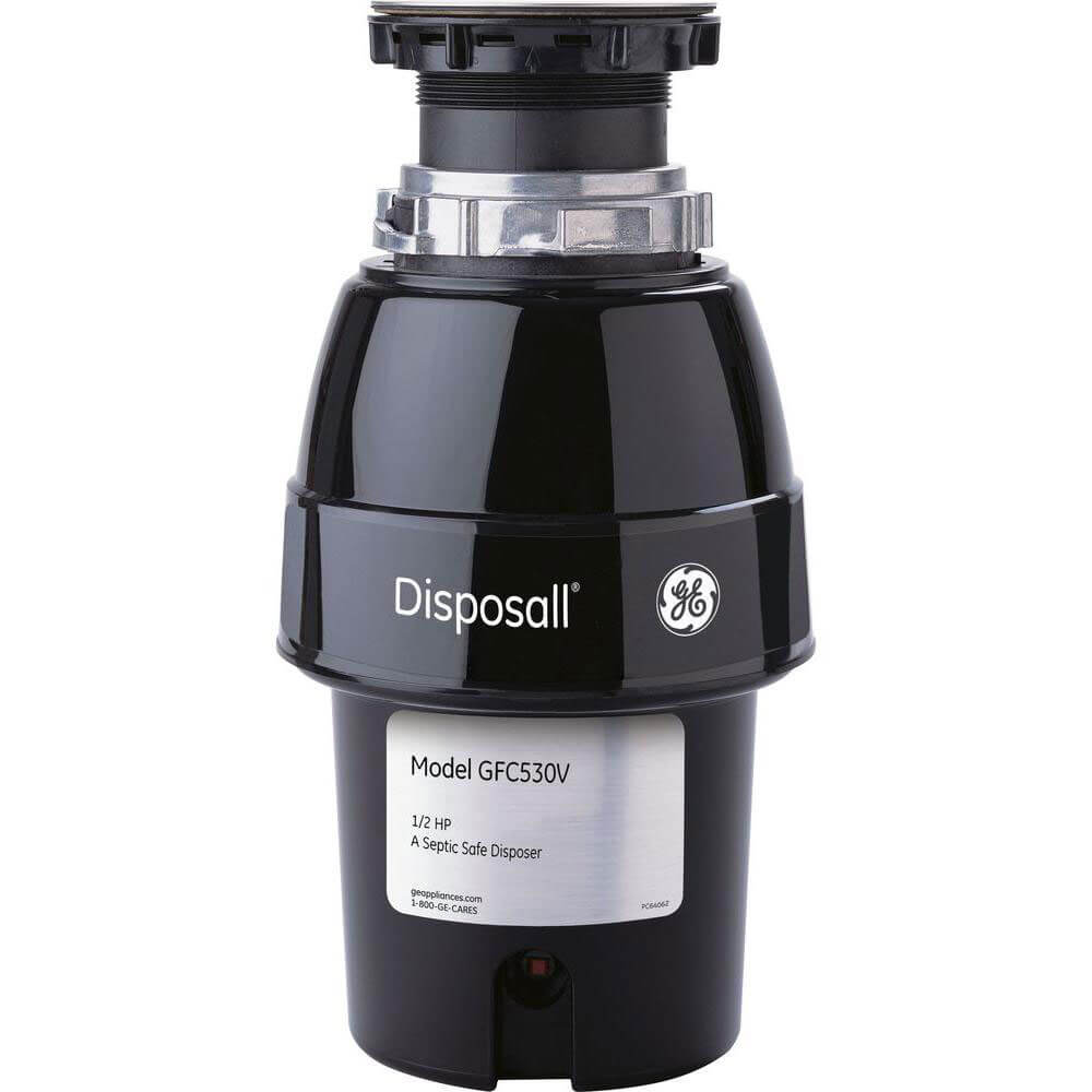 1/5 HP Continuous Feed Non-Corded Garbage Disposer