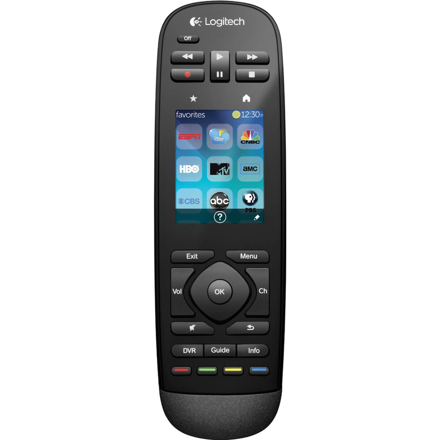 Harmony Touch Universal Remote with Color Touchscreen