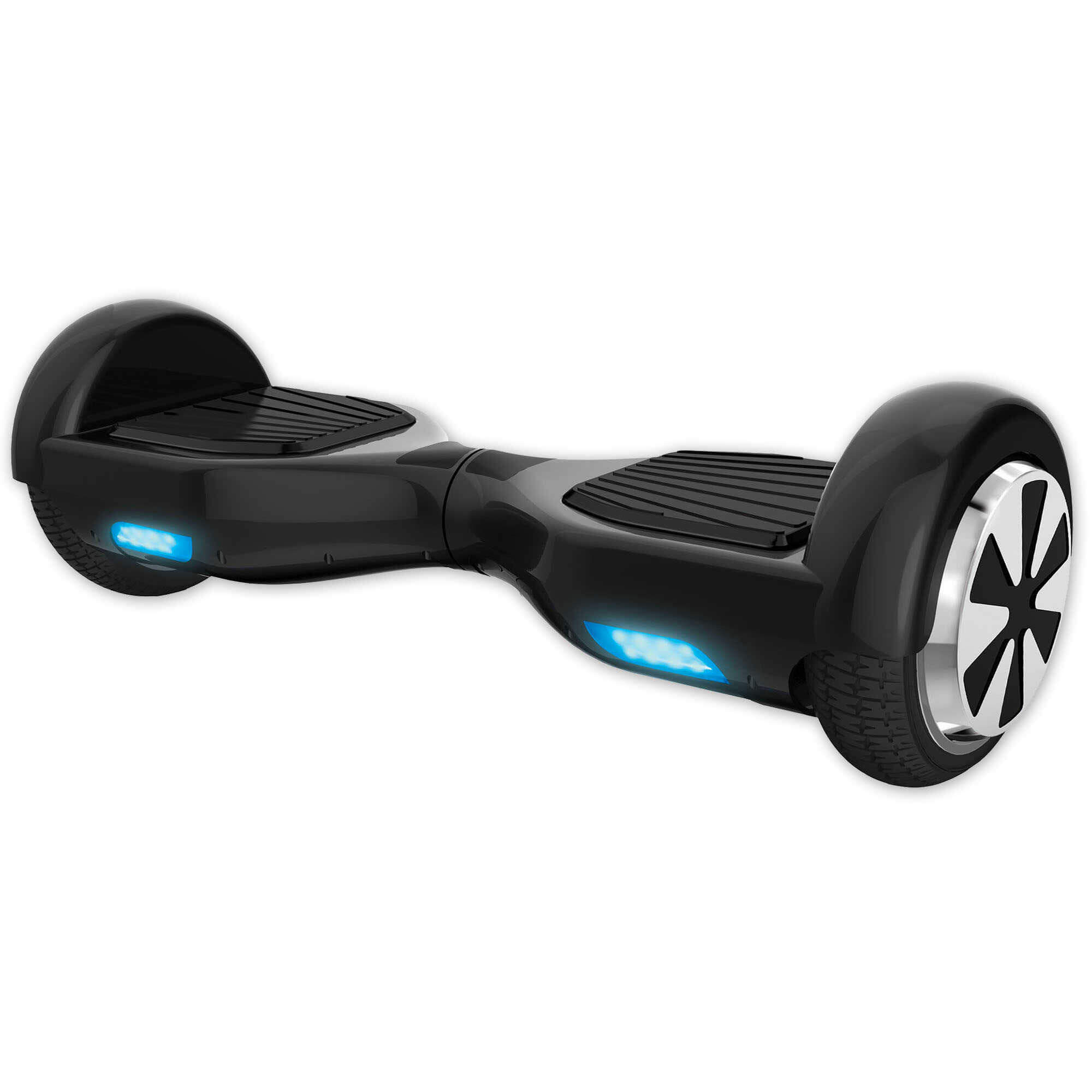 Two Wheels Hoverboard W/ LED Lights - Black