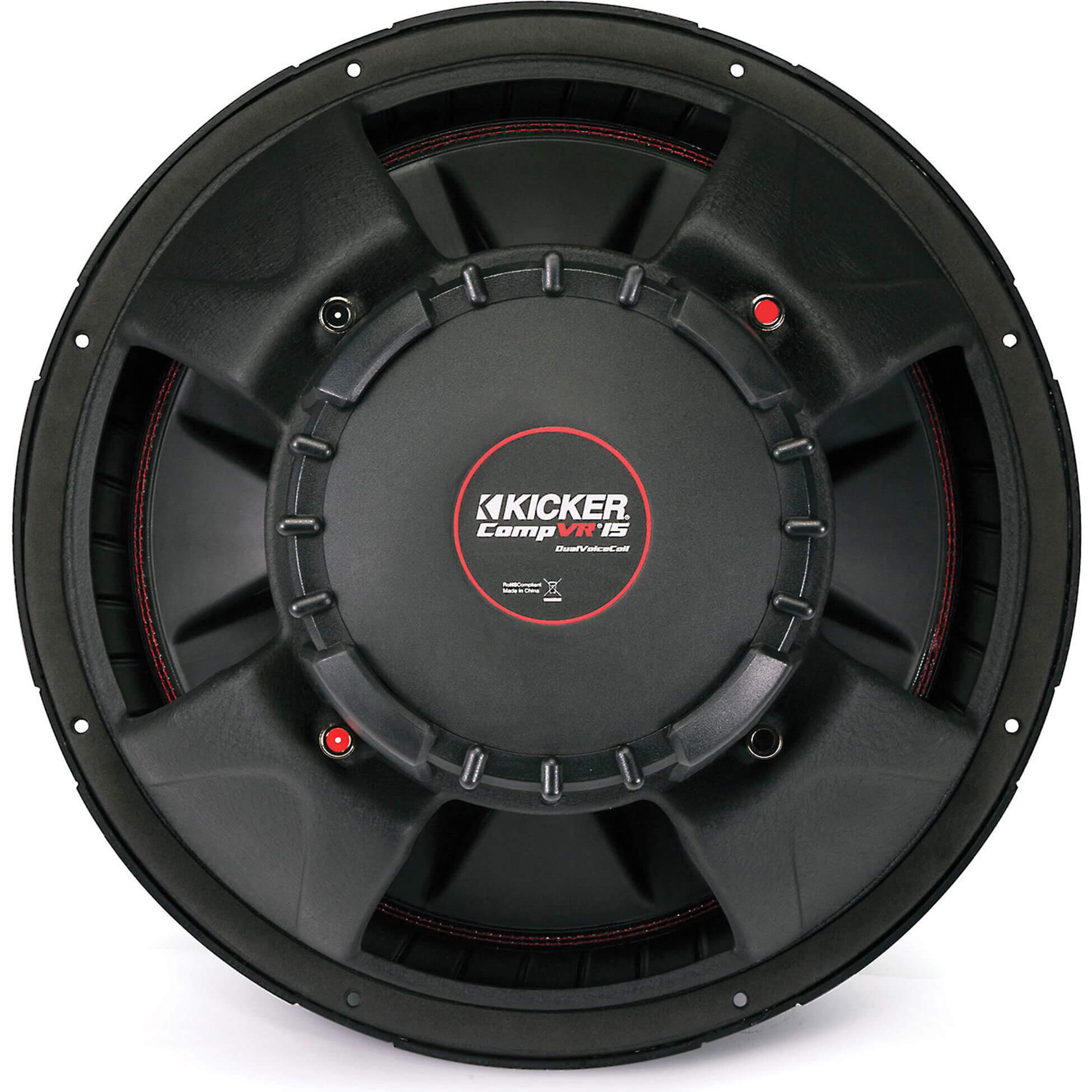 CompVR 15 inch subwoofer with dual 4-ohm voice coils