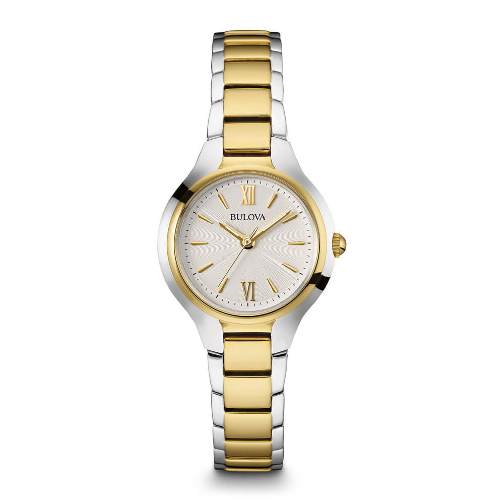 Womens Silver & Gold Watch