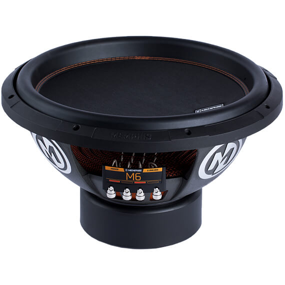 M6 15 inch Dual 4 Ohm Subwoofer