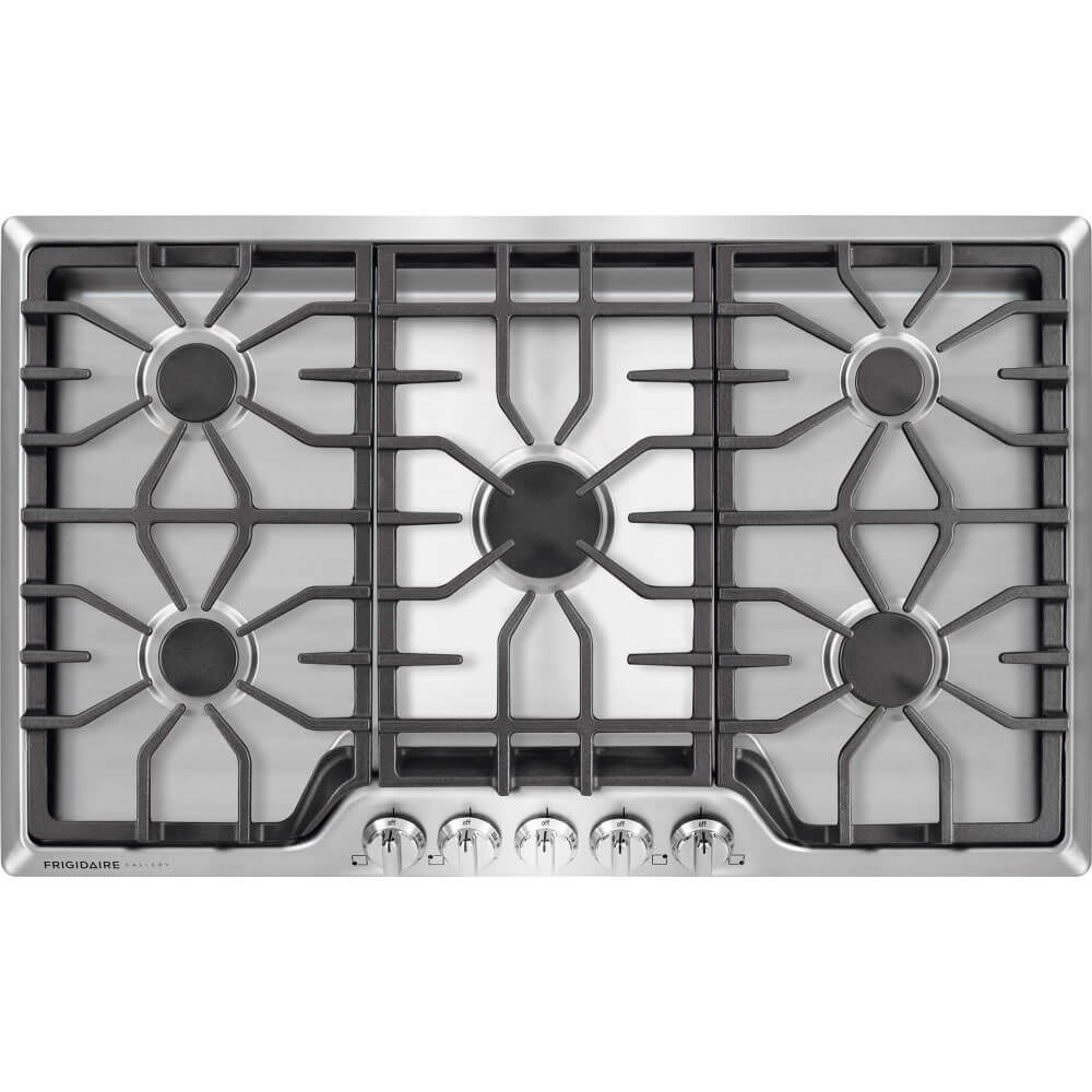 36 inch 5 Burner Gas Cooktop