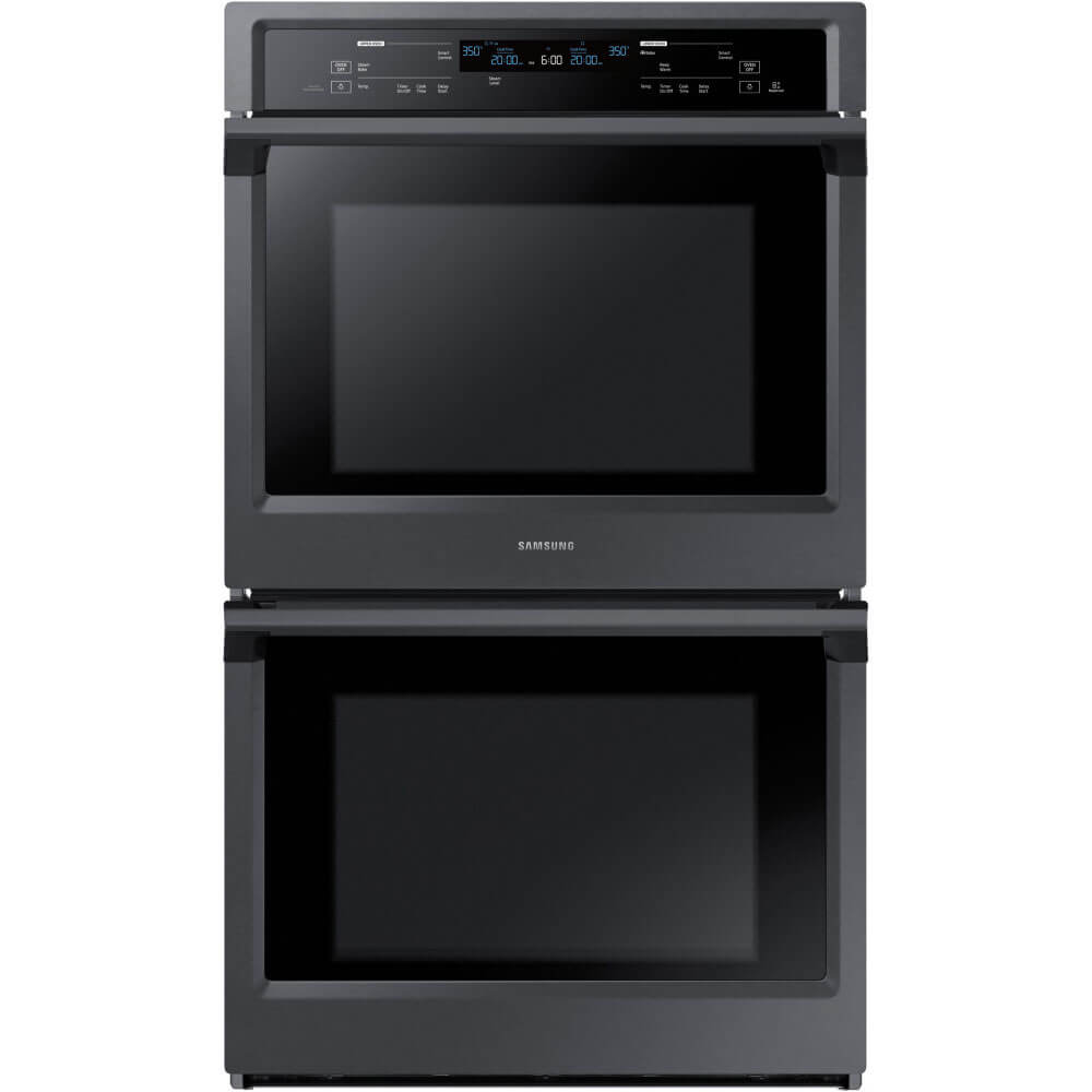29 inch Black Stainless Double Convection Wall Oven