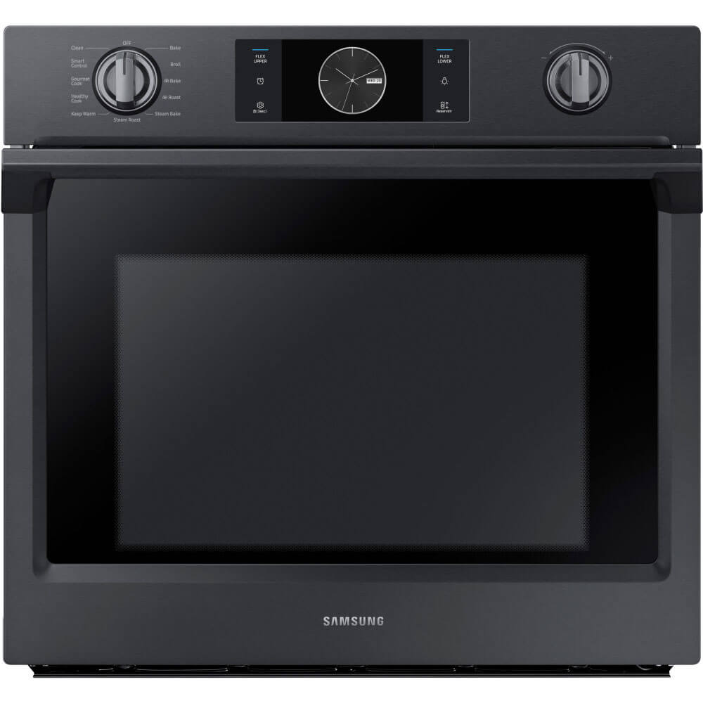 5.1 cu. ft. Black Stainless Convection Wall Oven