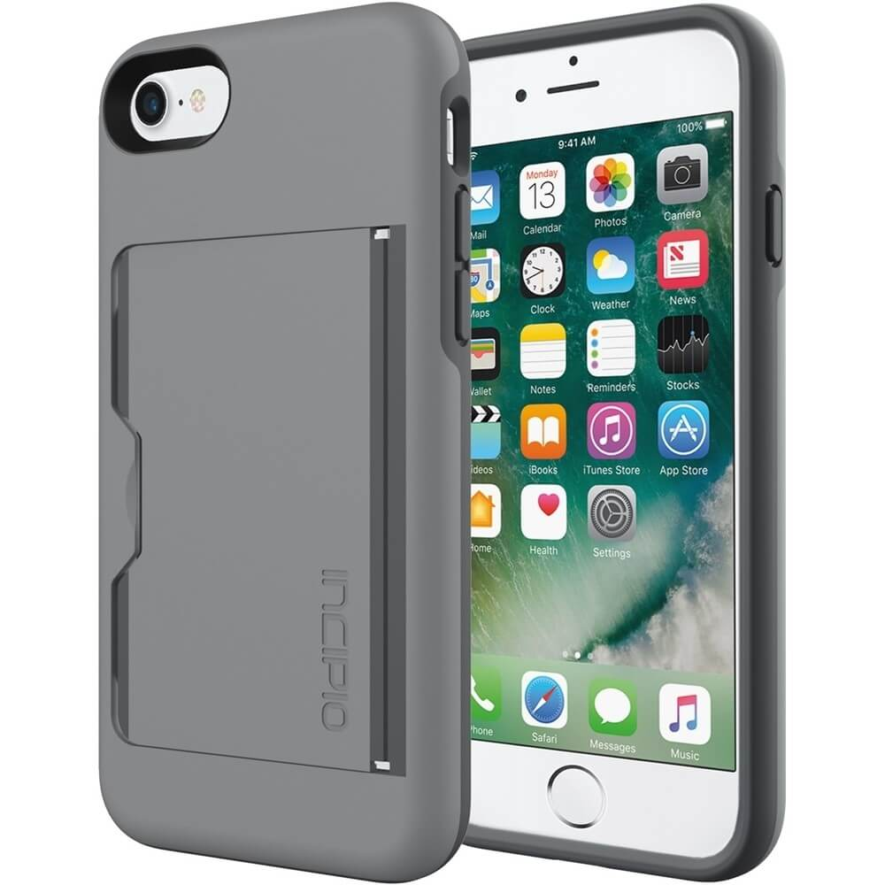 STOWAWAY Case for Apple® iPhone® 7 - Gray - OPEN BOX