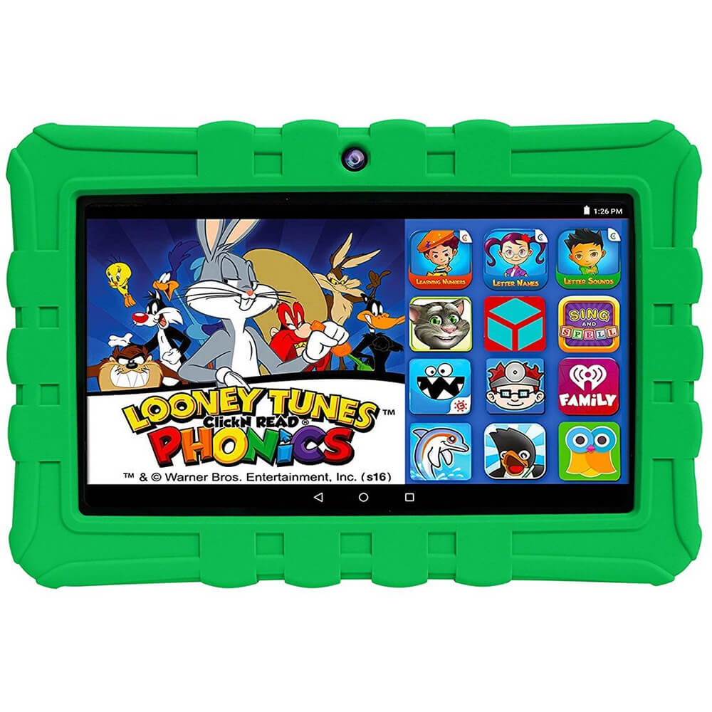 HighQ Learning Tab 7 inch 16GB Kids Tablet - Green