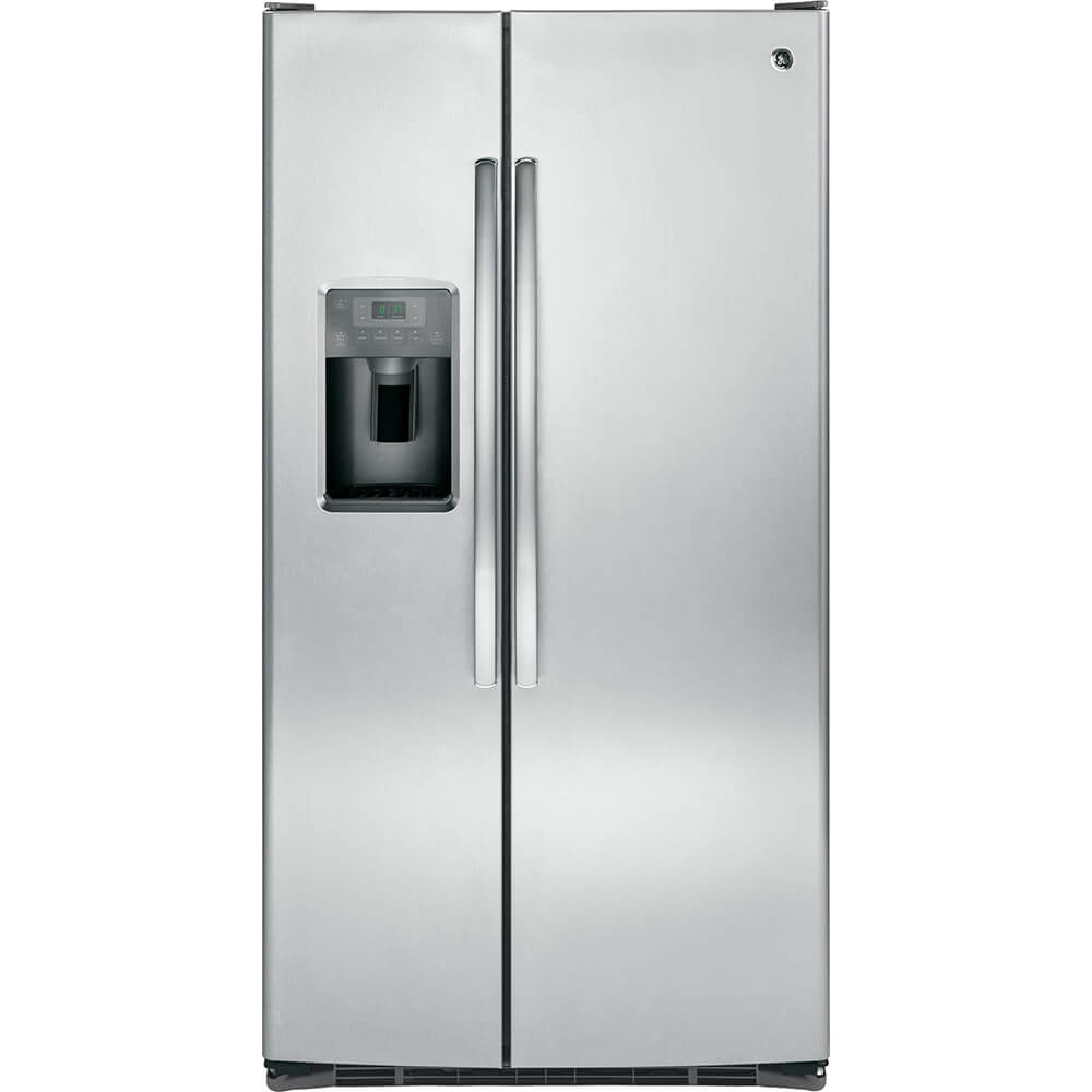 25 Cu. Ft. Stainless Side-by-Side Refrigerator