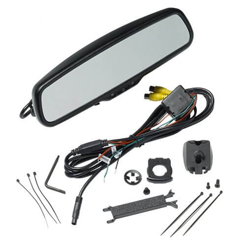 4.3 inch Display Replacement Rear-View Mirror