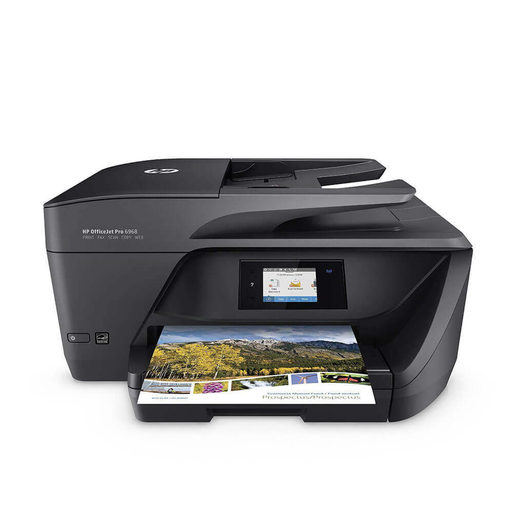 OfficeJet Pro 6968 All-in-One Wireless Color Printer