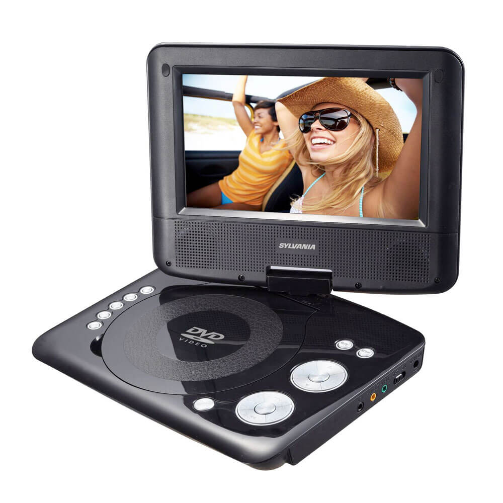 7 inch Swivel Screen Portable DVD Player