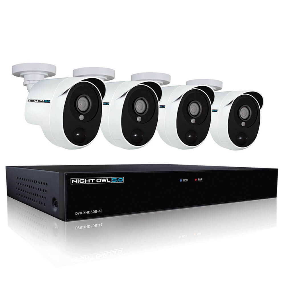 4 Channel Security System with 1TB HDD